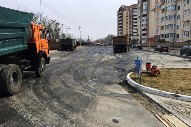 строительство-дорог